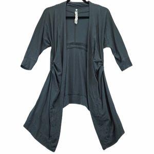 Lululemon size 4 grey flowy cardigan